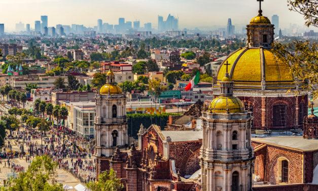 La ville de Mexico : une ville chargée d'histoire!